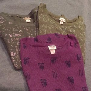 Mossimo Long Sleeves 3 x the price of one
